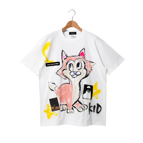 Hand Painted T-sh / White / No.2