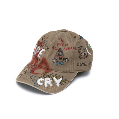 Hand Painted Cap / No.4