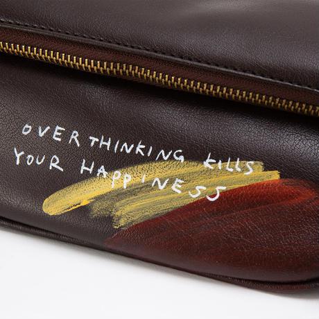 Hand Painted Shoulder Bag / No.3