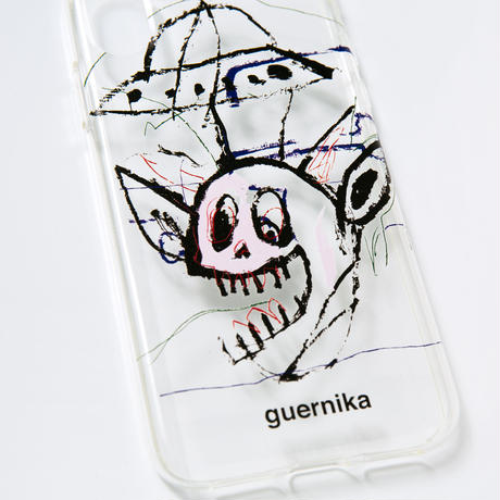 iPhone Case /  alien (Clear) 【iPhone7/8】【iPhoneX】