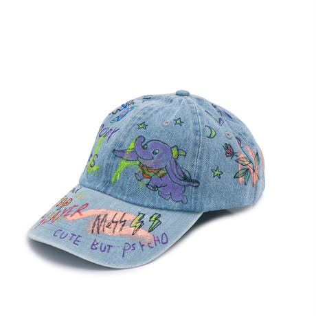 Hand Painted Cap / No.5
