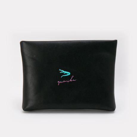 Real Painted Clutch Bag / No.1