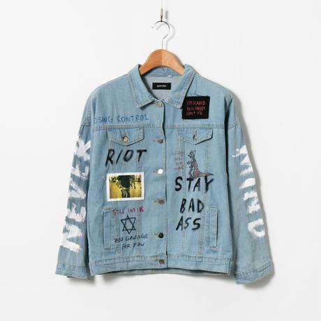 Custom Denim Jacket / No.3