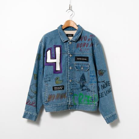 Custom Denim Jacket / No.8