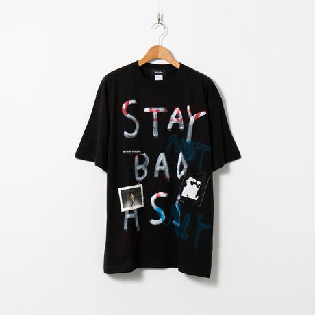 Hand Painted T-sh / Black / No.152