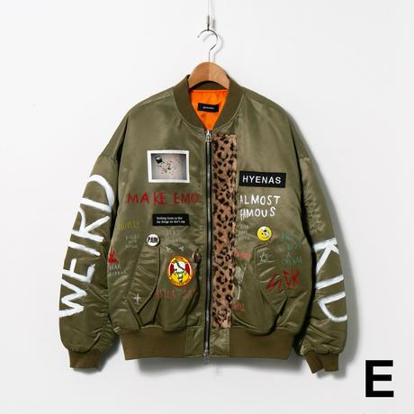 Custom MA-1 / No.1 / Khaki / Size:2