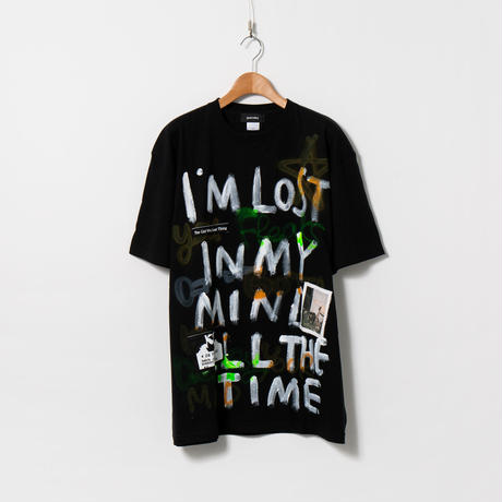 Hand Painted T-sh / Black / No.146