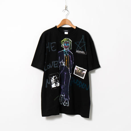Hand Painted T-sh / Black / No.117