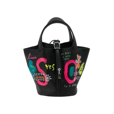 Cube Bag (Glitter Ver.) / size S / No.24