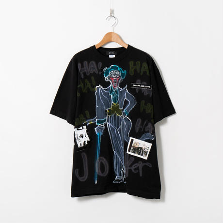 Hand Painted T-sh / Black / No.83