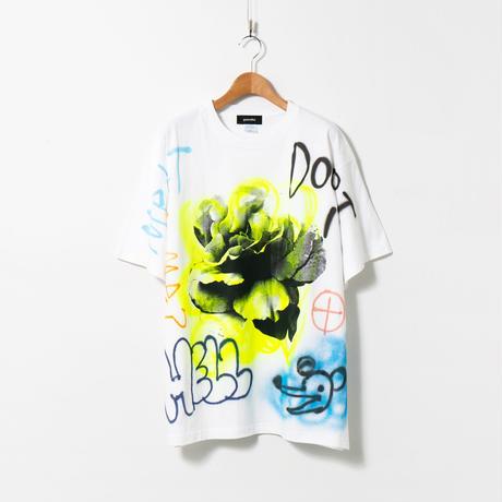 【納期:約1週間】Flower repaint T-shirts