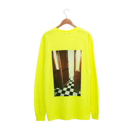 Back Photo LS Tee / Yellow