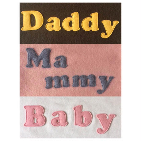 ミニクッション Family Set (Daddy Mammy Baby)
