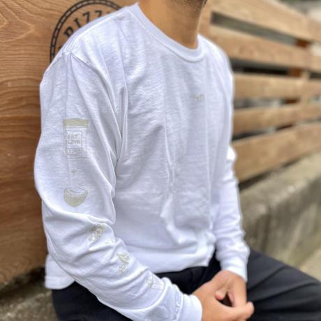 GUGGA Long Sleeve Tee 'White'