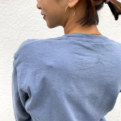 GUGGA Long Sleeve Tee 'Blue Jean'