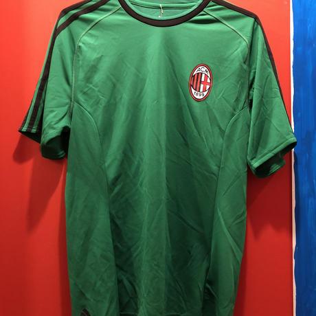 【USED 古着】adidas製 ACミラン サッカーゲームシャツ used0020