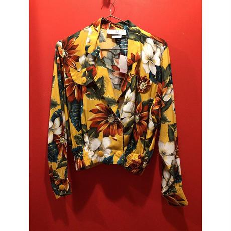 【USED 古着】ボタニカル柄ダブルプレストジャケット 1526127101-15