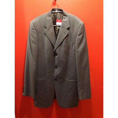 【USED 古着】YVES SAINT LAURENT チェックテーラードジャケット イヴ・サンローラン used0033