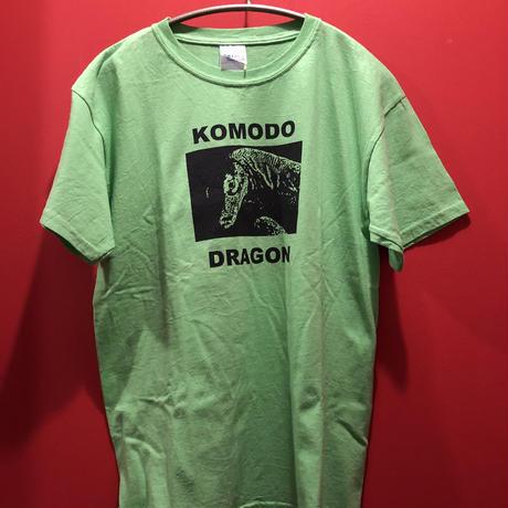 【USED 古着】KOMODO DRAGON プリントTシャツ グリーン used0006