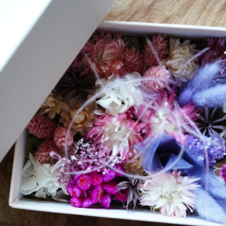 FLOWER GIFT BOX(SPRING)