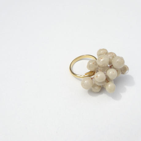 "【Summer museum】flower Ring ""pepper berry"""