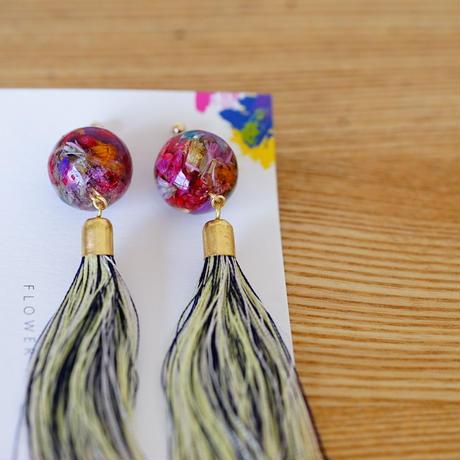"【Summer Museum】tassel pierce ""瑠璃紺"""