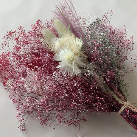 【Summer museum】BABY'S BREATH SWAG (RED)
