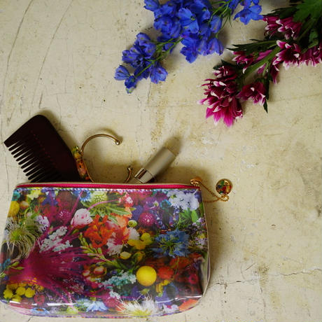 """flower trip"" original pouch"