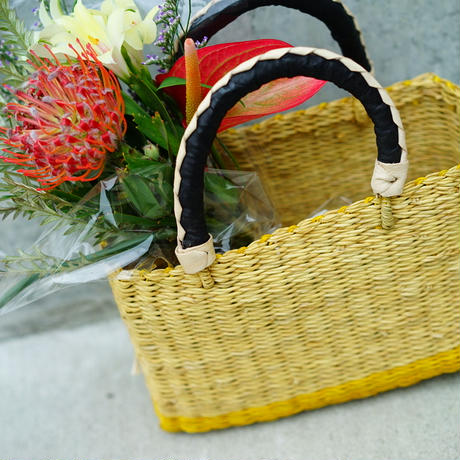 <CLOUDY×gui>FLOWER BASKET SET(YELLOW)