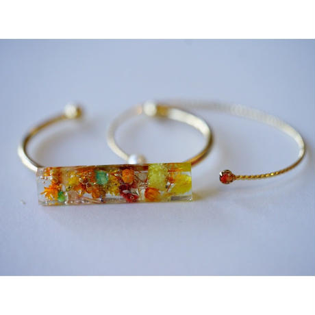 "【Summer Museum】bangle ""Himawari"""