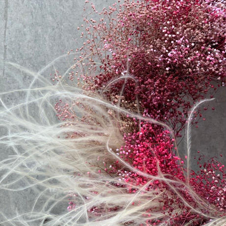 BABY'S BREATH WREATH M