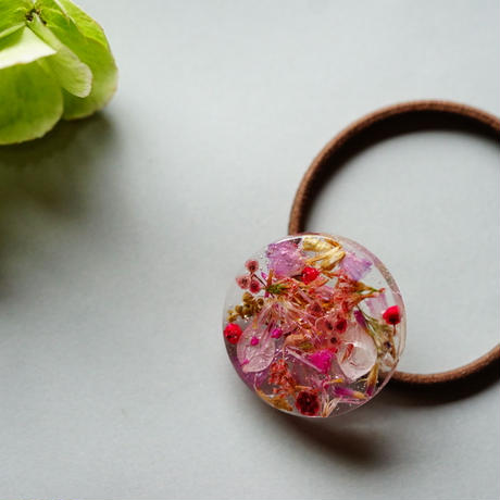 """【Summer Museum】hair accessory """"rose pink"""""""