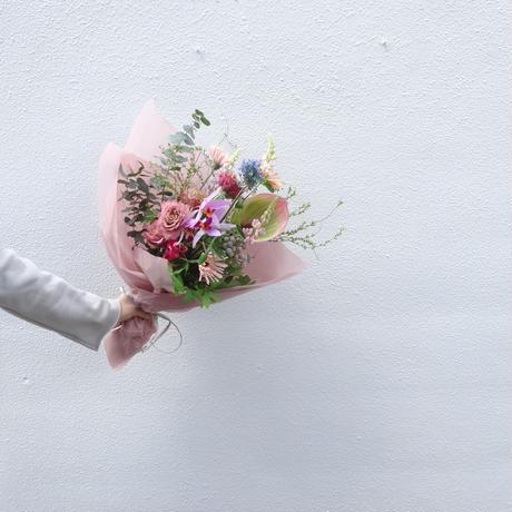 Seasonal gift bouquet M (April)