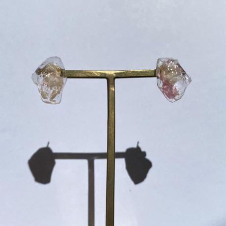 【bijou series】bijou pierce (shell pink)