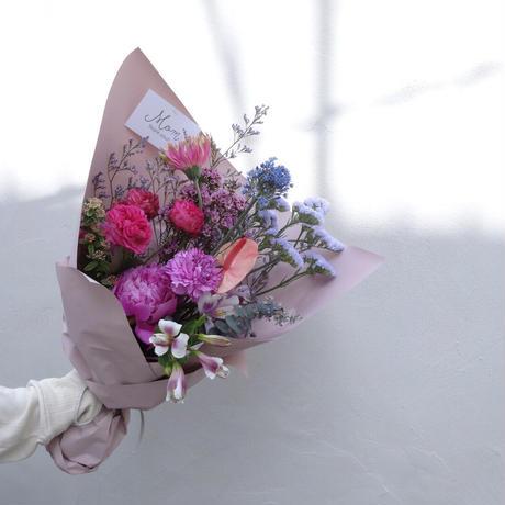 【5月22日(土)お届け】THANKS MOM,BOUQUET