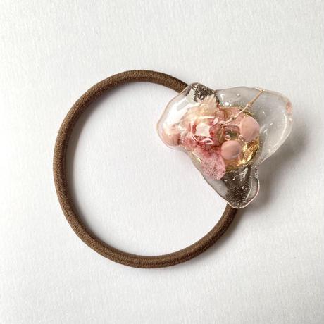 【bijou series】bijou hair accessory (milky pink)