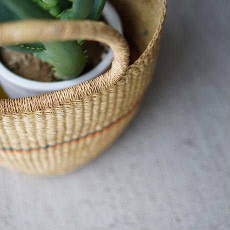 <CLOUDY×gui>Aloe basket set(yellow×green)