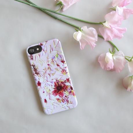"iPhone case ""petals""(iPhone6/6s/7/8、iPhoneX/XS)"