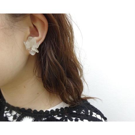 "【petal series】 Blooming Flower Earrings(Pierces) ""hydrangea"""