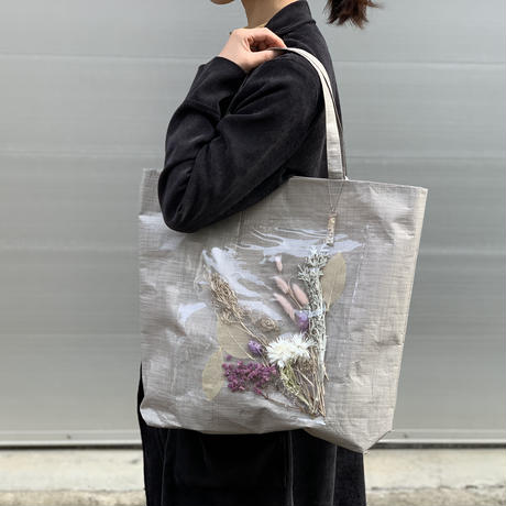 flower bag M(beige)