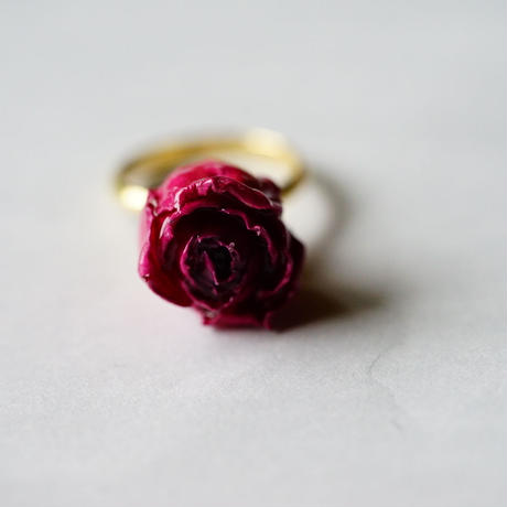 "【Summer museum】flower Ring ""rose"""