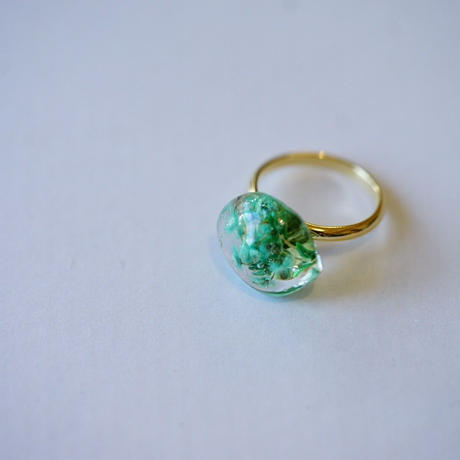 "【Summer Museum】ring ""Brownie"""