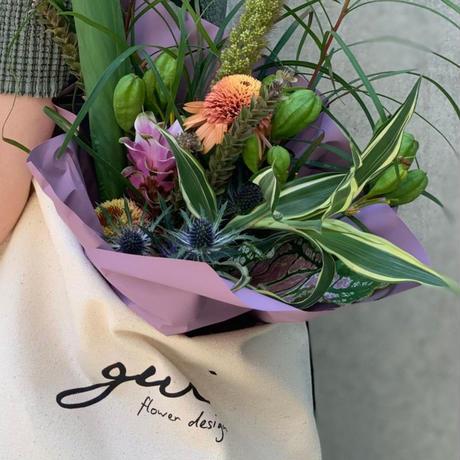 FLOWER BAG SET(black)