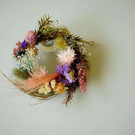 "【Summer Museum】mini wreath ""shine"""