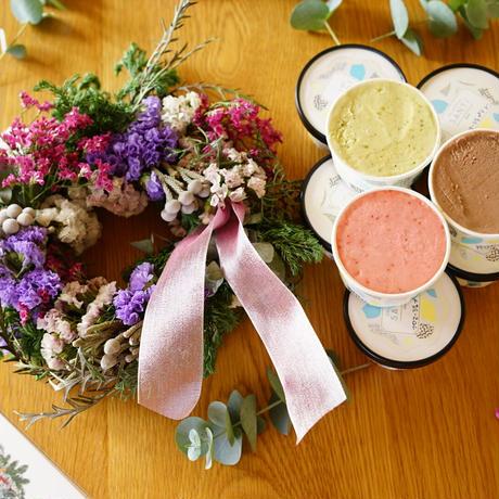 〈SANTi×gui〉Christmas gelato set
