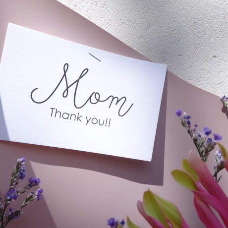 【5月29日(土)お届け】THANKS MOM,BOUQUET