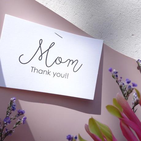 【5月15日(土)お届け】THANKS MOM,BOUQUET