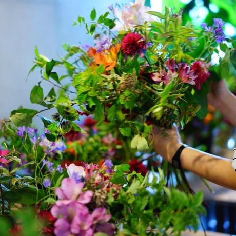 9月21日(土)11:00~「片桐花卉園芸の草花を束ねるワークショップ」WSチケット