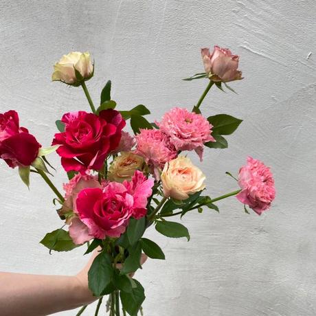 Autumn rose boquet