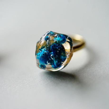"""【Summer Museum】ring """"Deep blue"""""""